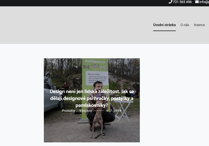 Publikace PR článku na webu goodshapes.cz s vysokou DA