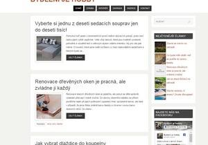 Publikujeme váš článek na webu www.bydlenijehobby.cz