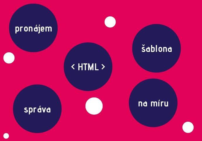 HTML statický web bez administrace