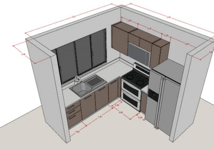 Zpracování Vašeho modelu v 3D programu SketchUp/Render
