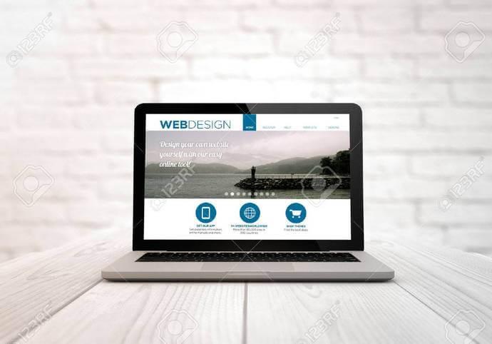 Webdesign - minimalistický a fresh design