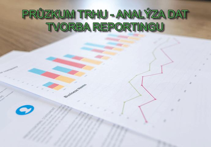Podrobná online analýza trhu a reporting dat
