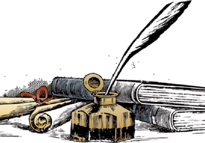 Psaní nebo úprava textů, článků, popisků.