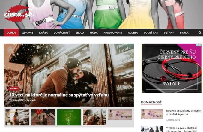 Publikujem váš článok na SK ženskom webe