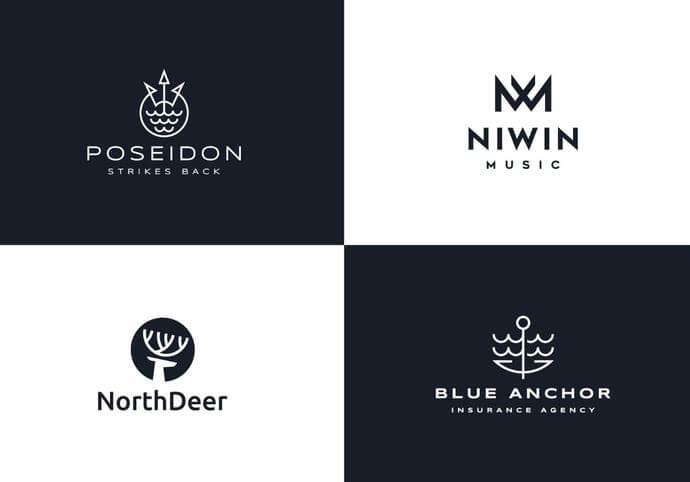 Navrhnu moderní minimalistické obchodní logo