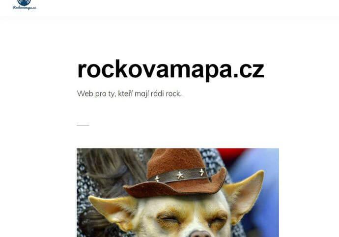 Článek v hudebním magazínu Rockovámapa.cz