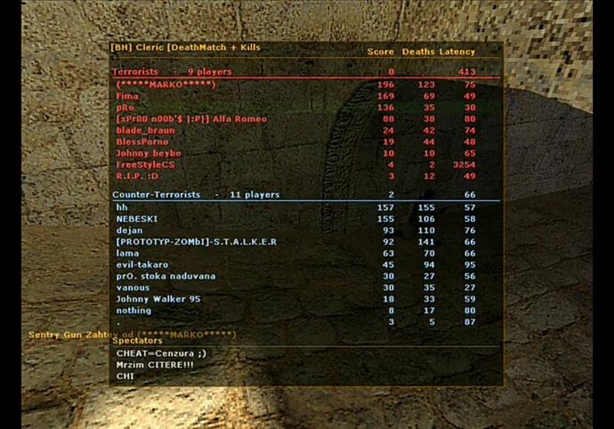 Pro gamer counter strike 1.6 guru