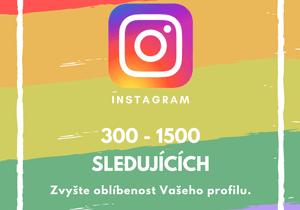 300 až 1500 sledujících na Instagramu