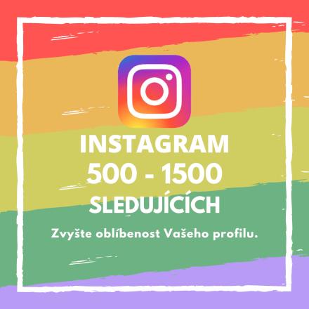 500 až 1500 sledujících na Instagramu