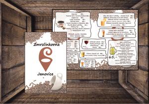 Jídelní nebo nápojový lístek pro Váš podnik