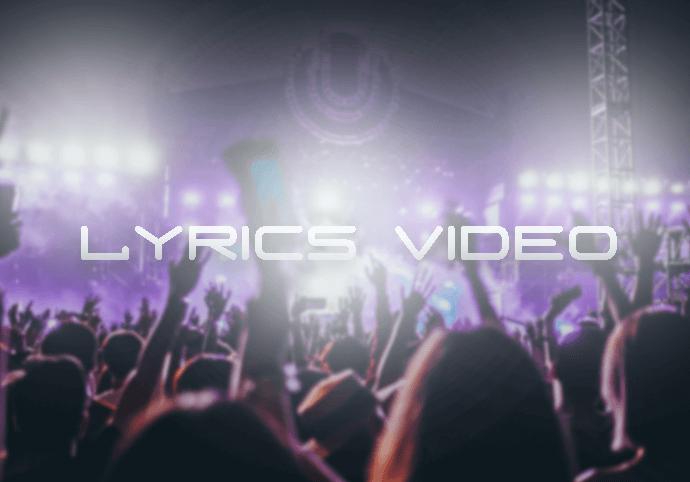 Vytvořím Lyrics video k vaší písni
