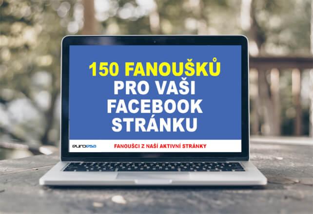 150 CZ/SK fanoušků do 4 dnů pro Vaši FB stránku