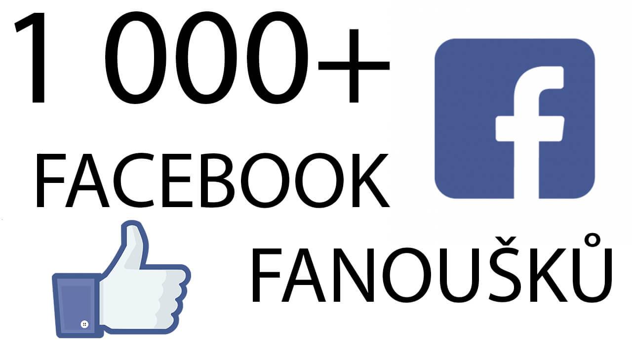 1 000+ Facebook fanoušků!