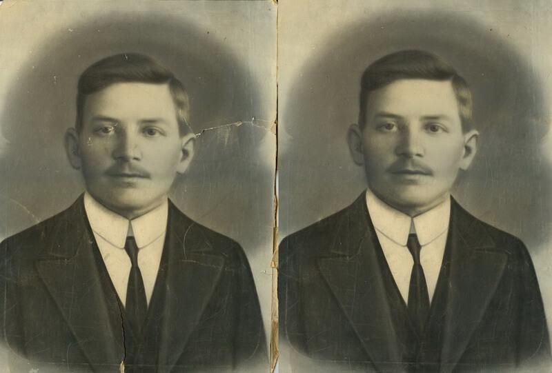 Restaurování starých fotografií