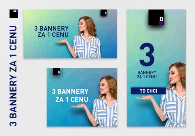 4 bannery za 1 cenu