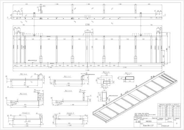 Konstrukce, tvorba technické dokumentace, 3D vizualizace