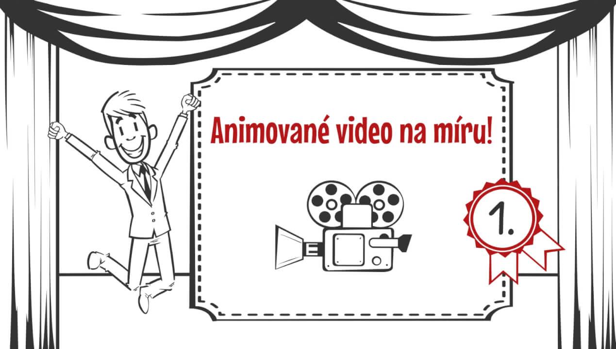Vytvořím animované video/whiteboard animation