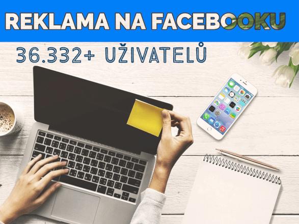 Reklama ve facebook skupině s 36.322+ členy [grafika + text]
