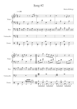 Přepíšu hudbu do not