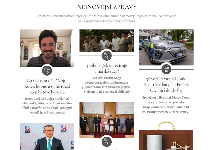 PR článek na JsmeUspesni.cz