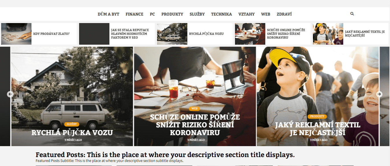 Publikace PR článku do magazínu remirent.cz