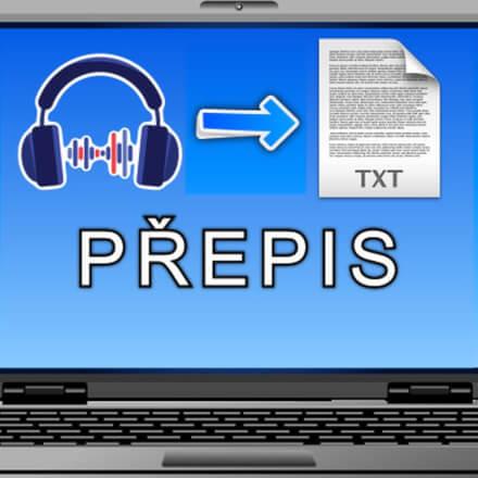 Přepis audionahrávky do textové podoby