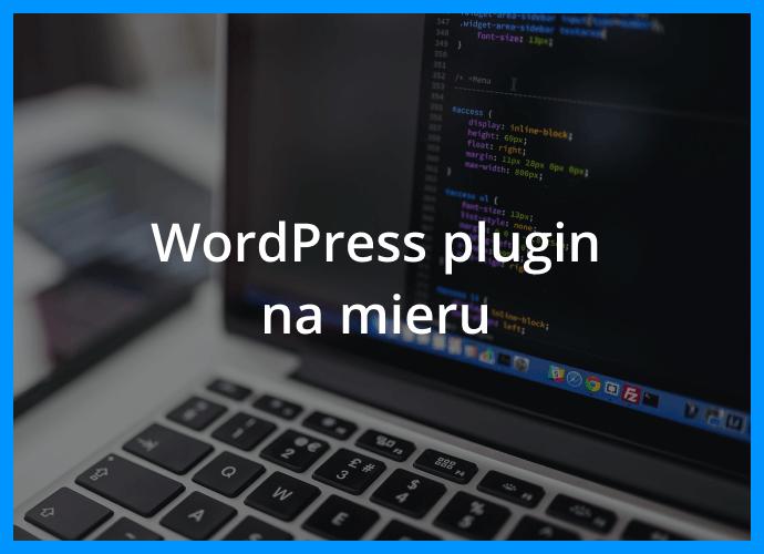 Wordpress plugin na mieru