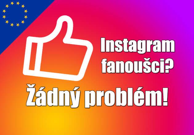 1000+ Evropských followerů na Váš instagramový účet/stránku