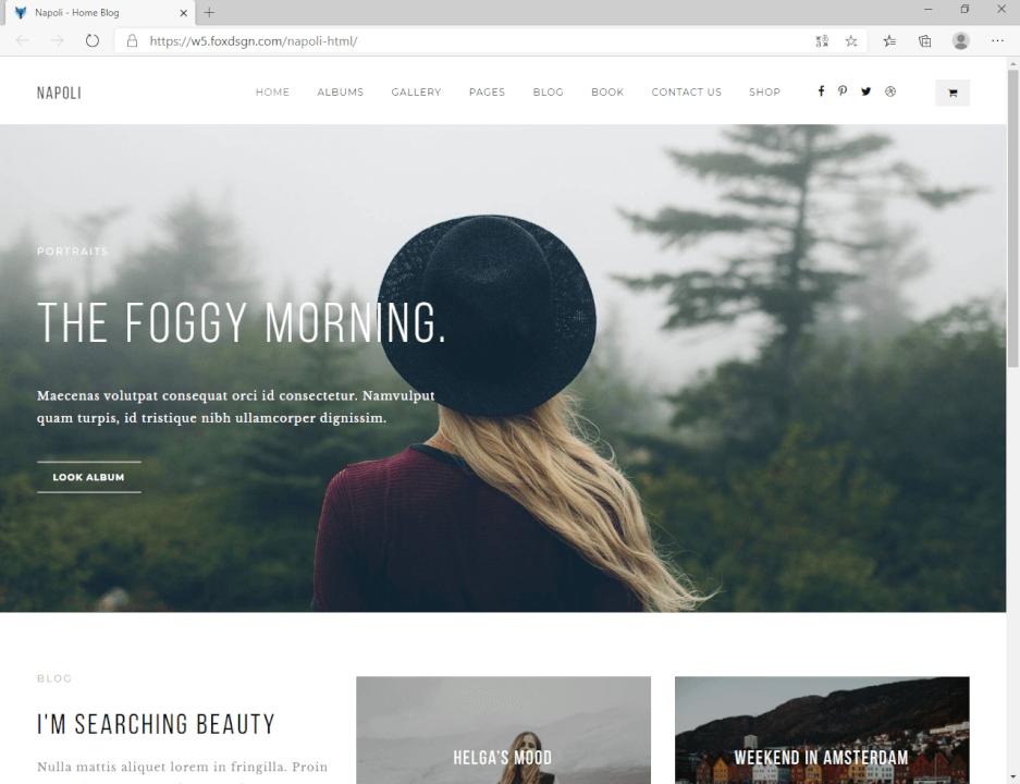 Moderní webová stránka rychle a levně!