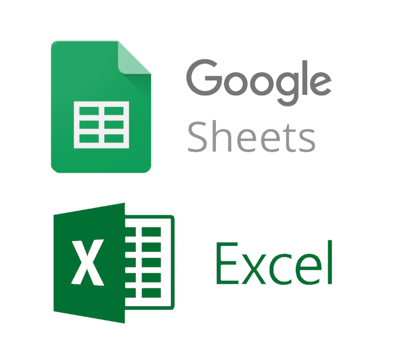 Google Sheets & Excel - pomoc s tabulkami, vzorci,...