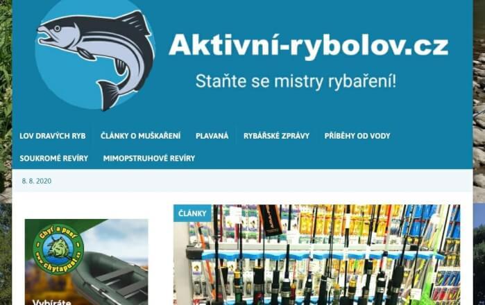 Získejte PR článek s odkazy z webu Aktivni-rybolov.cz