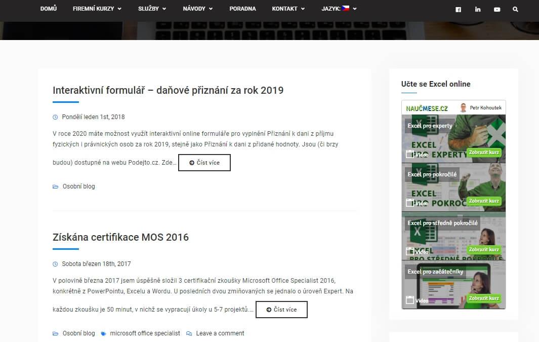 Publikování PR článku na webu ITLEKTOR.cz