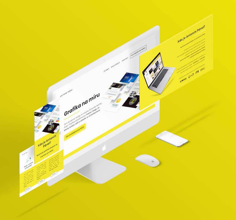 Vytvoření webdesignu na míru