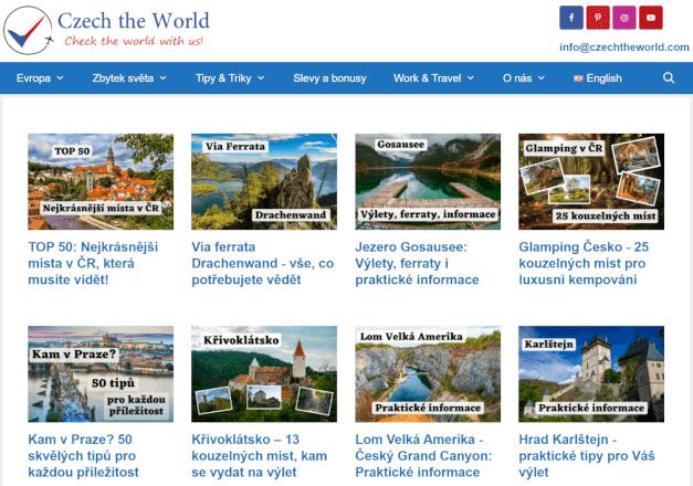 Publikujeme váš článek na CzechtheWorld.com (PA39 / DA34)