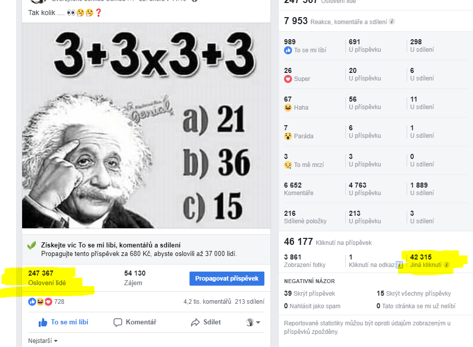 Připnutí Vaší inzerce do FB skupiny na 1. místo