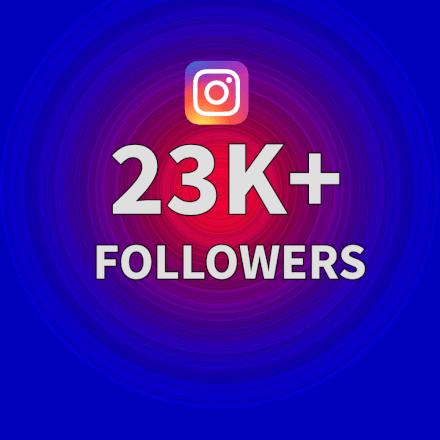 Sdílení obsahu na instagramovém účtu s 23k+ followers