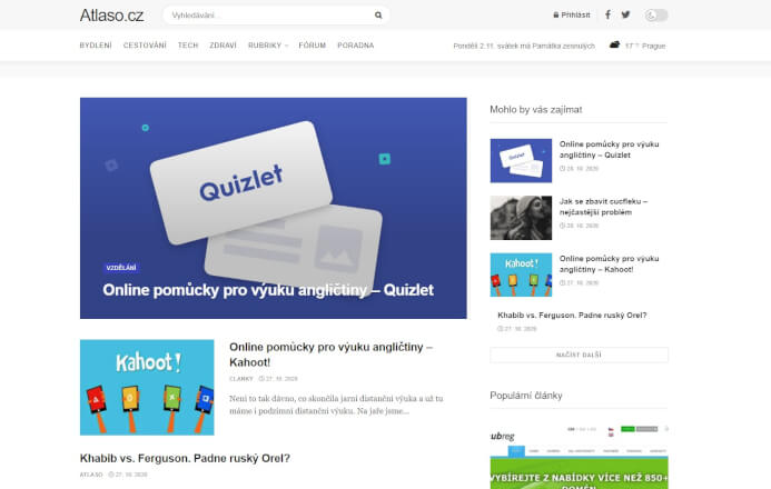 Publikuji rychle PR článek na kvalitním webu Atlaso.cz