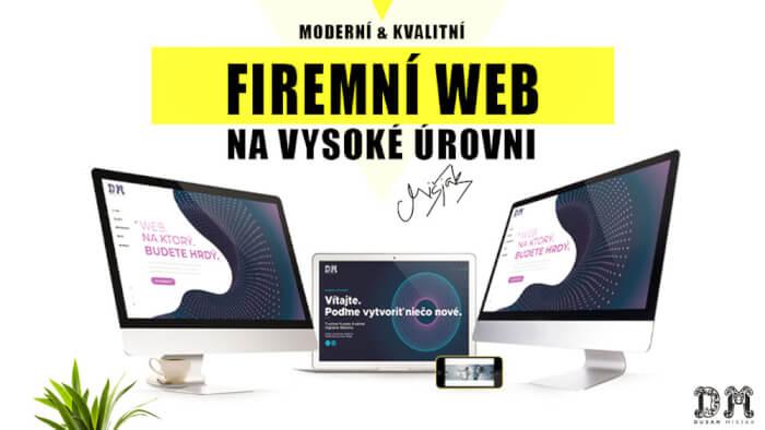 Moderní a kvalitní FIREMNÍ WEB na vysoké úrovni