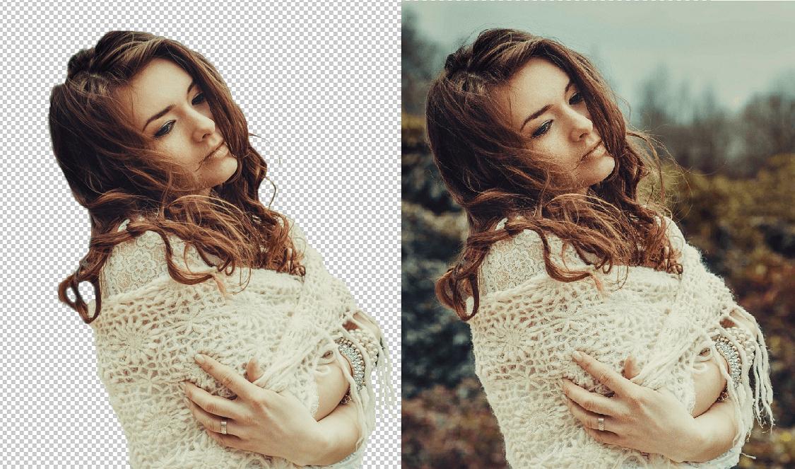 Odstranění pozadí u obrázku