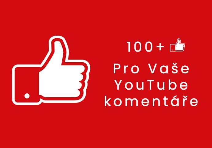 100+ Likes na vybraný KOMENTÁŘ u YouTube videa