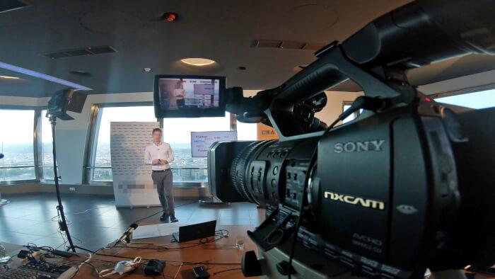 Online videopřenos - Online akce