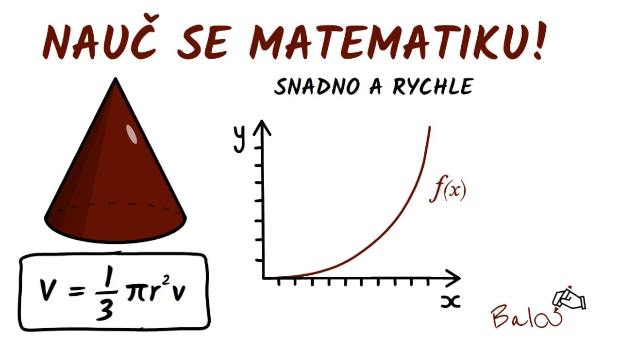 Doučování ZŠ a SŠ matematiky online