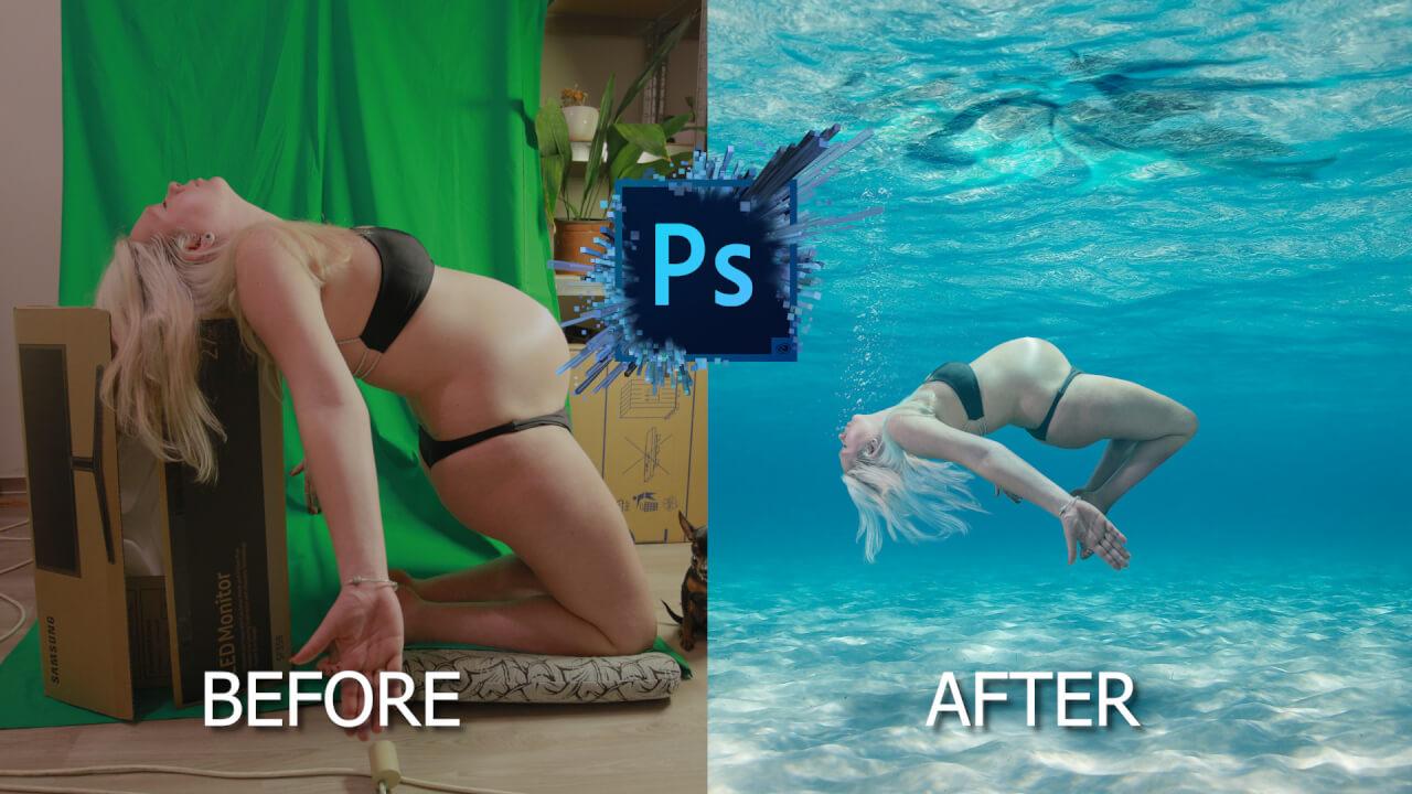 Retušování fotografií