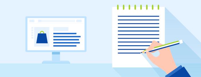 Tvorba produktových textů, popisků, web textů