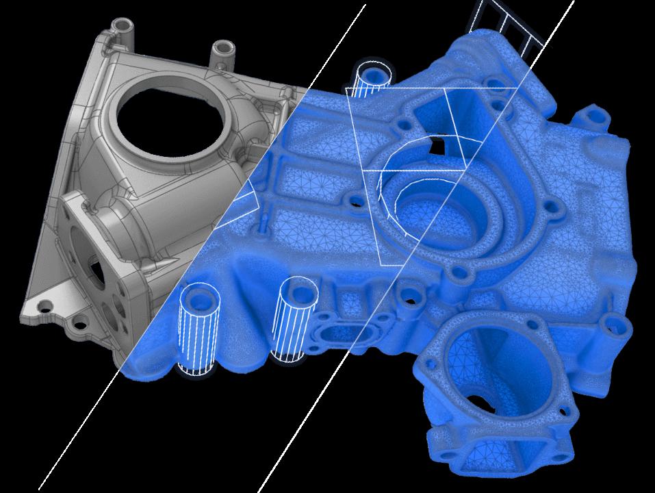 Reverzní Inženýrství - Sken a CAD design