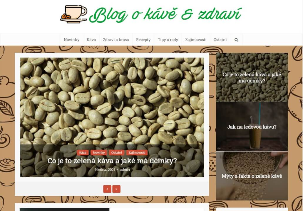Publikace na Zelena-kava-blog.cz