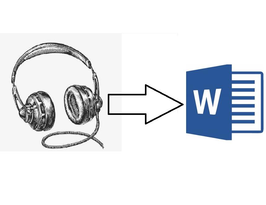 Přepis audionahrávky