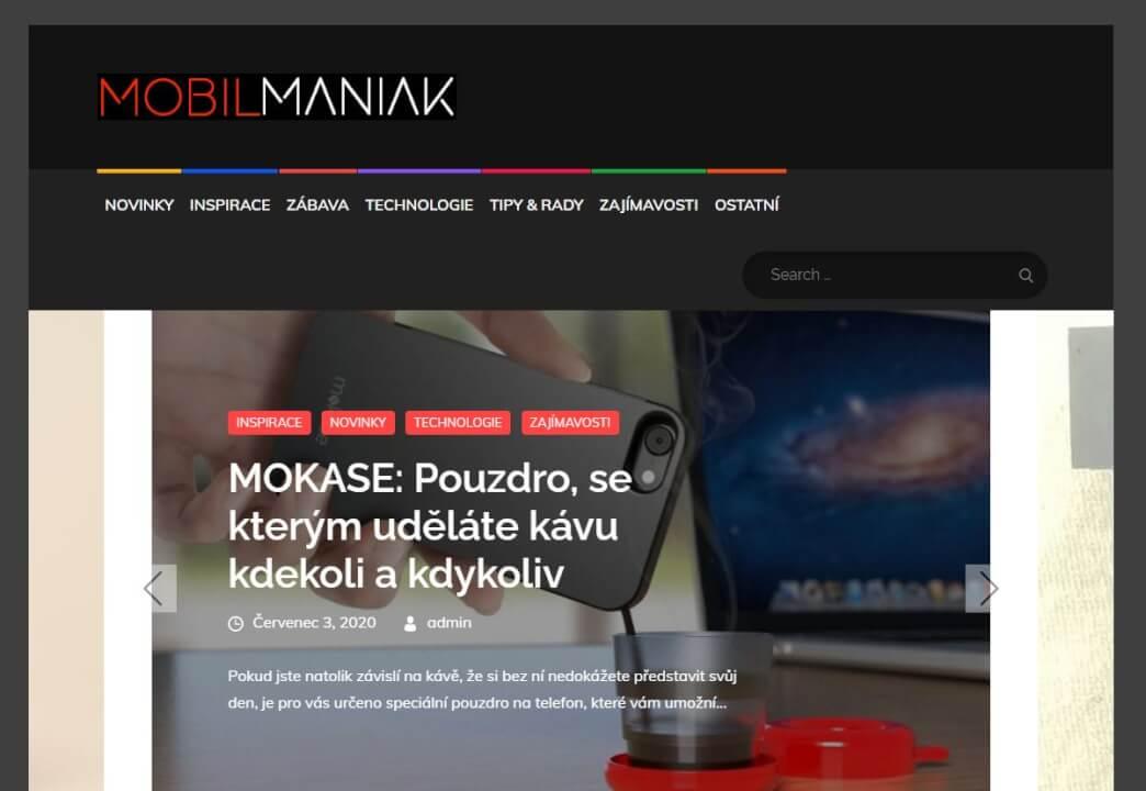 Publikace na Mobilmaniak.cz