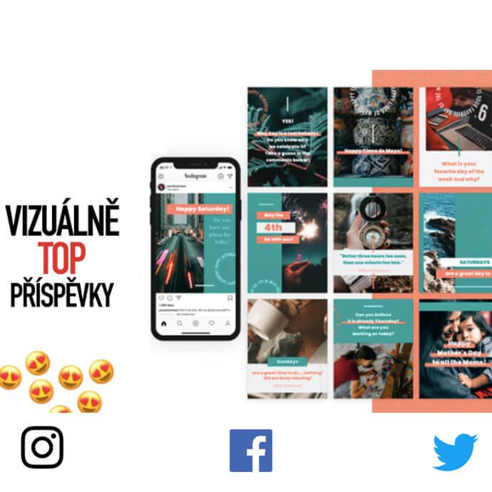 Vytovřím vám obsah pro Instagram, Facebook, Twitter