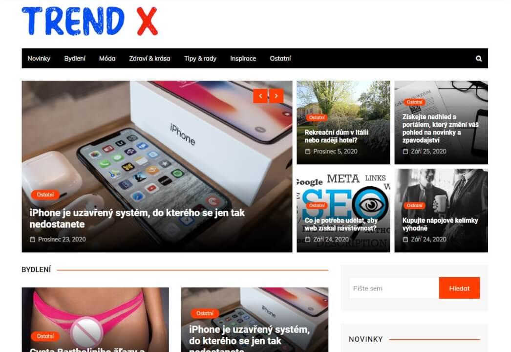 Publikace na Trend-x.eu